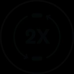Dual Ceramic Heaters icon